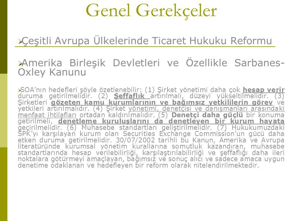 """ Yönetimin, Yönetim Kurulu Tarafından Bir İç Yönergeye Göre Devri mümkün kılınmıştır(m.367)  Yönetim Kurulunun en az üç üyeden oluşacağına ilişkin mevcut düzenleme yeni TTK """" da terk edilmiştir."""