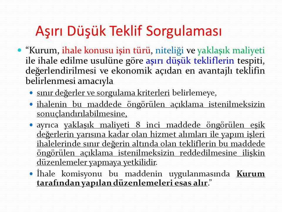 Birden Fazla İdare İçin Ortak İhale (Tebliğ) 97/A.5.