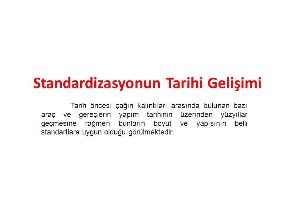 Standart ve Kalite Standart ve kalite birbirinin ikiz kardeşleridir.