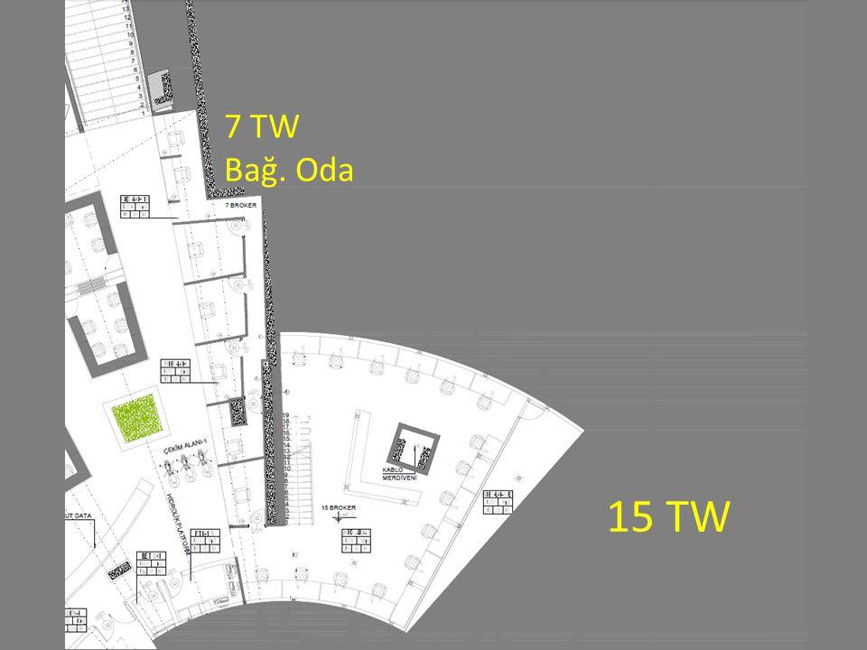 15 TW 7 TW Bağ. Oda