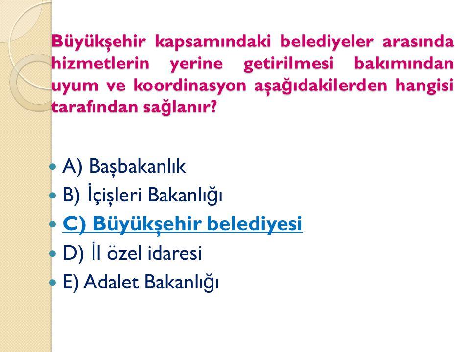 Belediyenin organları (5393/3) Belediye meclisi (En yetkili organ, karar organı) Belediye encümeni (Yürütme organı) Belediye başkanı (Üst yönetici, kararların uygulayıcısı, belediye tüzel kişili ğ inin temsilcisi) (Organlar Büyükşehirlerde de aynı)