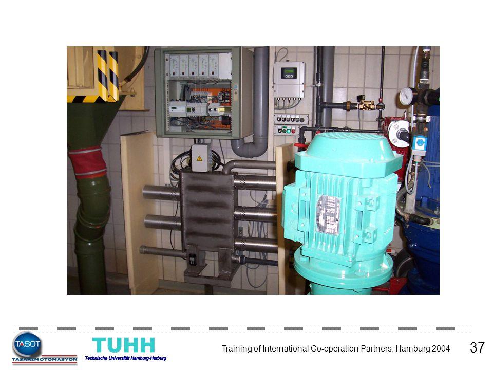 37 Training of International Co-operation Partners, Hamburg 2004