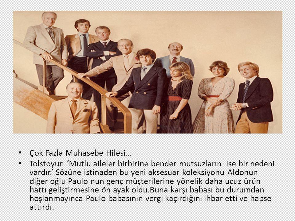 Çok Fazla Muhasebe Hilesi… Tolstoyun 'Mutlu aileler birbirine bender mutsuzların ise bir nedeni vardır.' Sözüne istinaden bu yeni aksesuar koleksiyonu