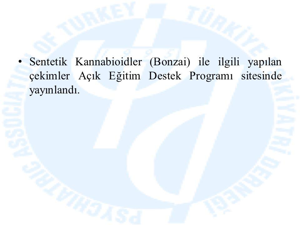 Sentetik Kannabioidler (Bonzai) ile ilgili yapılan çekimler Açık Eğitim Destek Programı sitesinde yayınlandı.