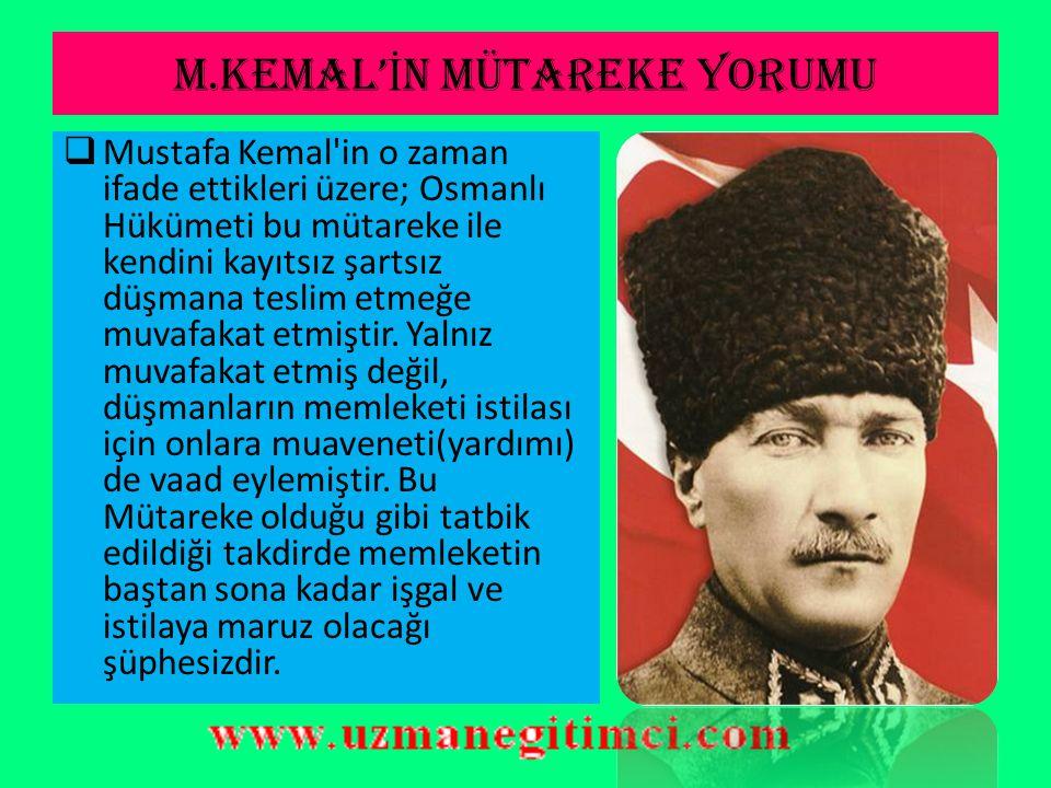 MONDROS ATE Ş KES' İ N İ N MADDELER İ 20- Gerek askeri teçhizatın teslimine, gerek Osmanlı Ordusunun terhisine ve gerekse nakil vasıtalarının İtilaf Devletleri ne teslimine dair verilecek herhangi bir emir, derhal yerine getirilecektir.