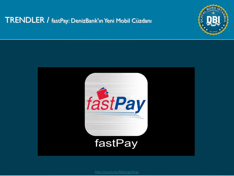 TRENDLER / fastPay: DenizBank ın Yeni Mobil Cüzdanı http://youtu.be/RQmcg1llGqc
