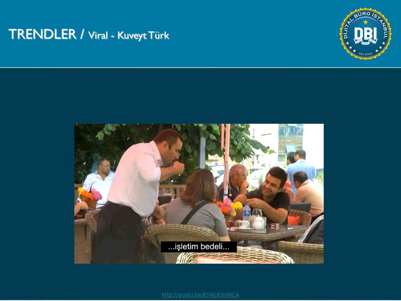 TRENDLER / Viral - Kuveyt Türk http://youtu.be/KT4GX2nXKCA