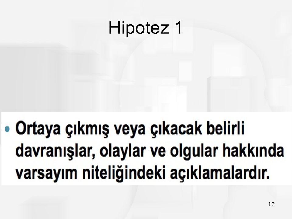 Hipotez 1 12