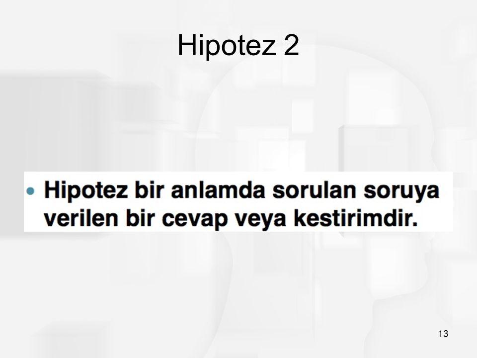 Hipotez 2 13