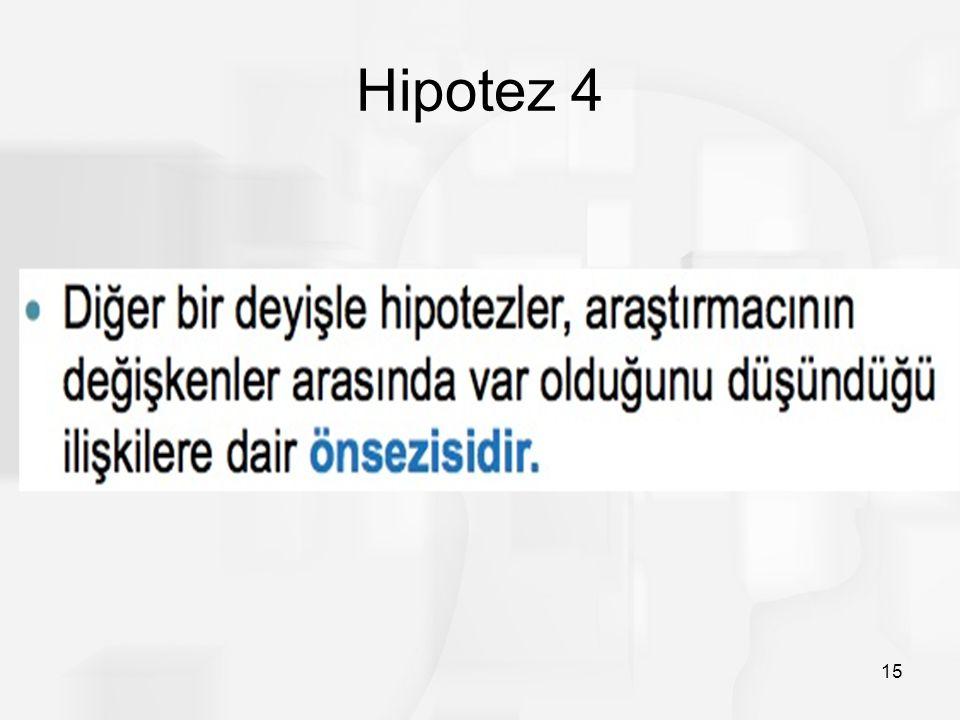 Hipotez 4 15