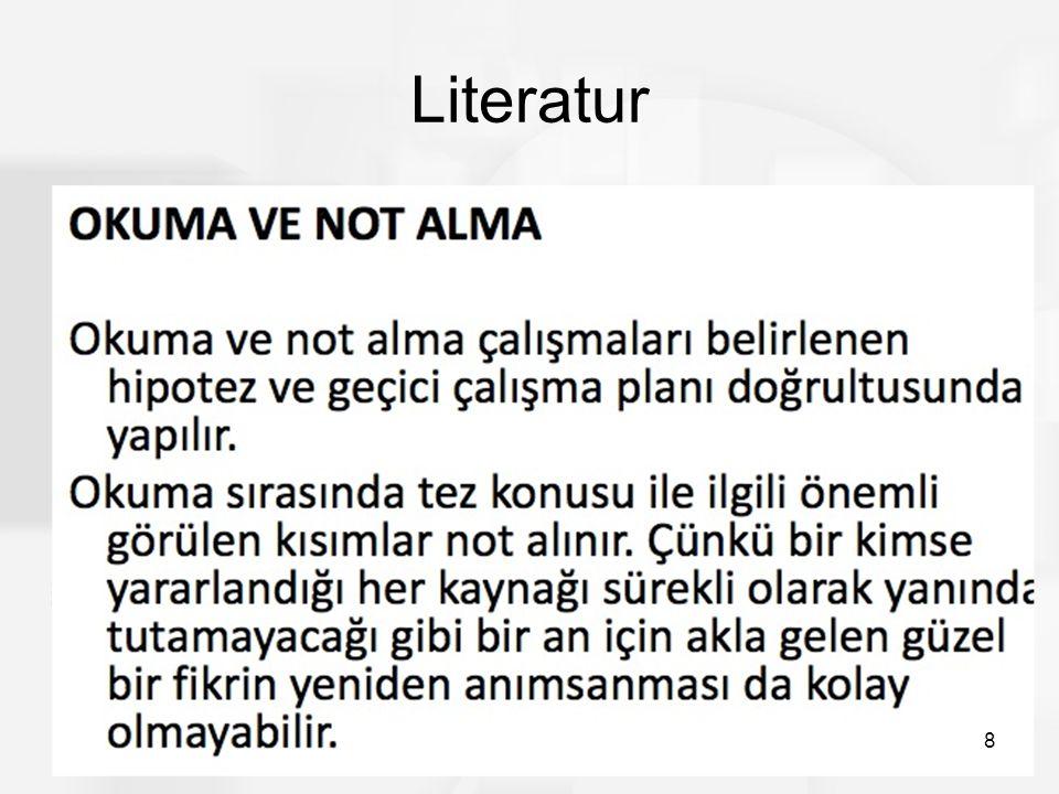Literatur 8
