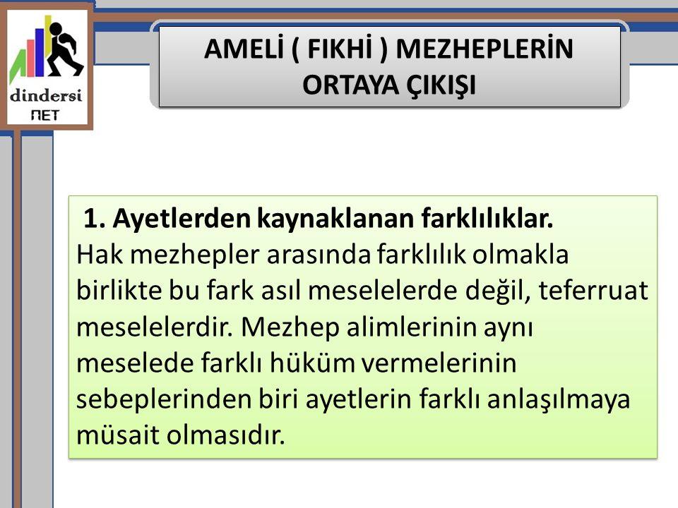 Mâliki Mezhebi'nin ortaya çıkışı Maliki mezhebi, İmam Malik Hz lerinin (ö 179 / 795) içtihatlarına dayanır Zaman içerisinde İmam-ı Malik'in talebeleri de onun rivayet ettikleri hadisleri ve görüşlerini toplayarak benimsemiş ve sistemleştirmişlerdir.