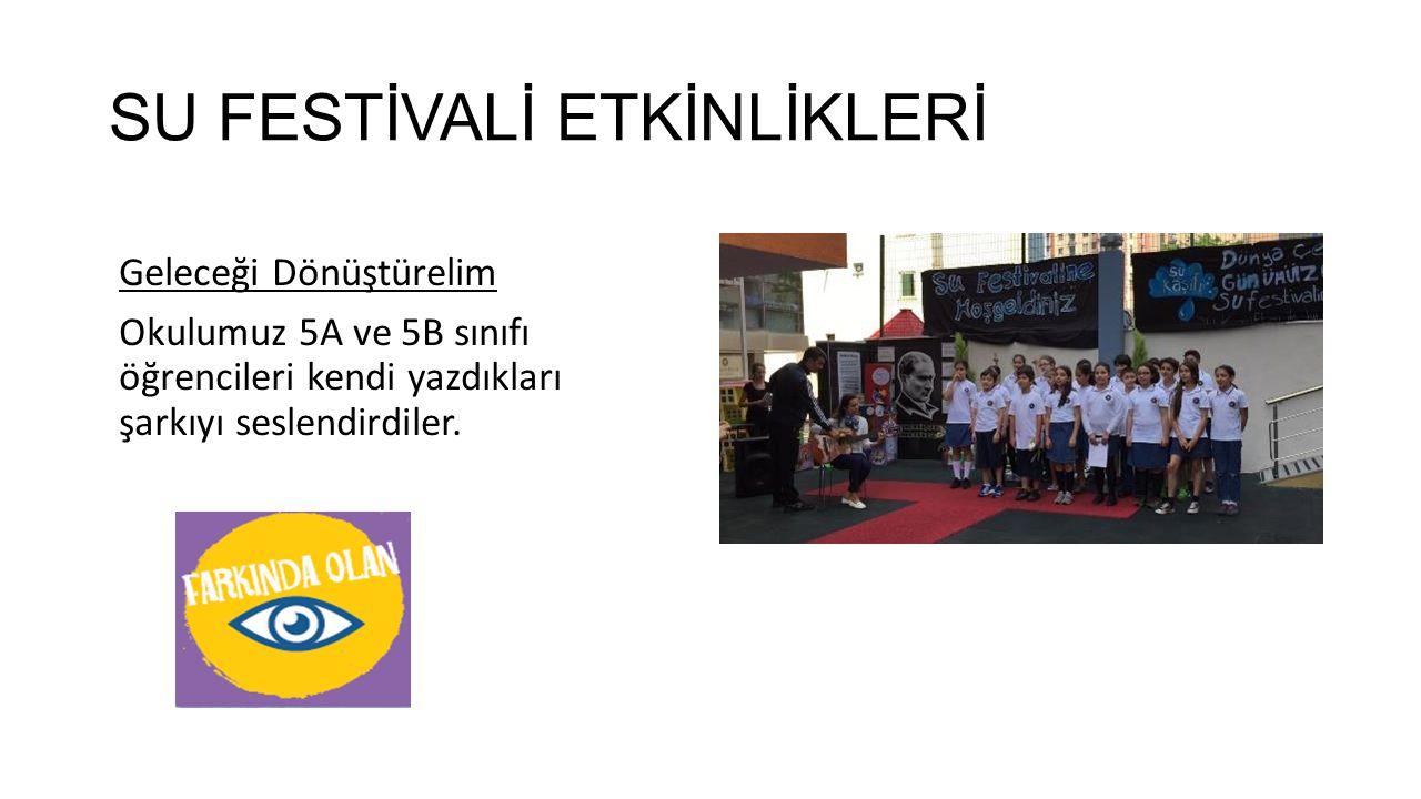 SU FESTİVALİ ETKİNLİKLERİ Hadi Geri Dönüştürelim Festival katılımcıları arasında 3 aşamada gerçekleştirilen yarışmada amaç ambalaj atıklarından yeni ü