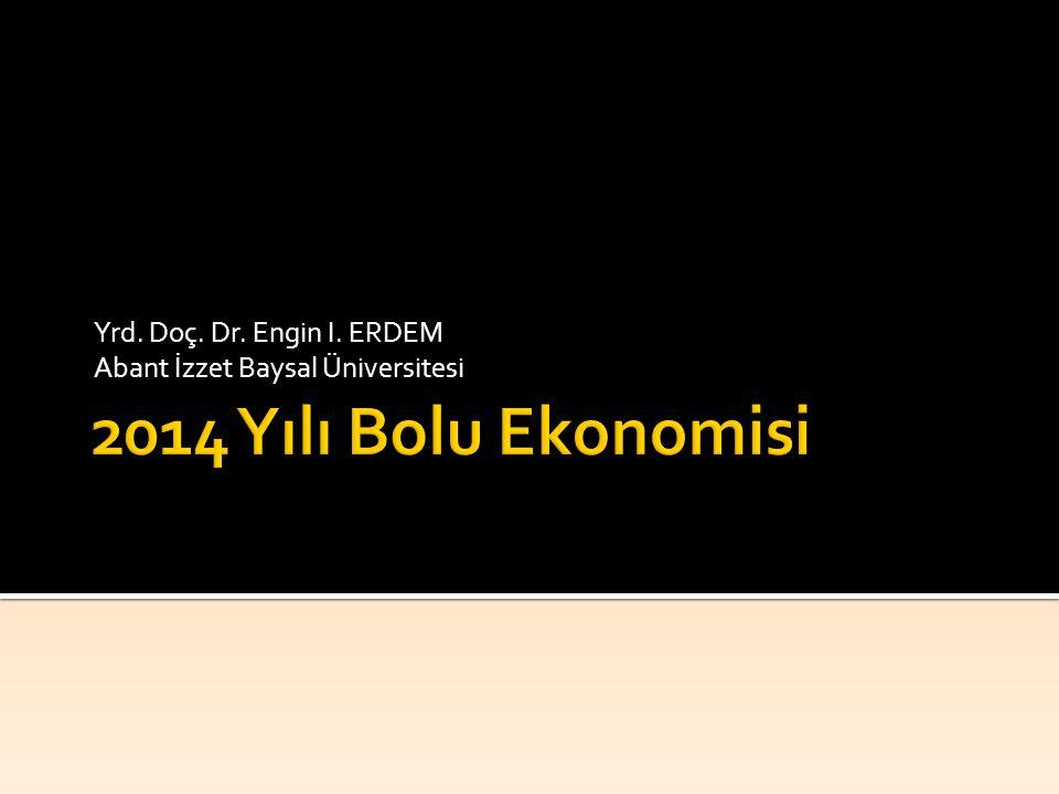Yrd. Doç. Dr. Engin I. ERDEM Abant İzzet Baysal Üniversitesi