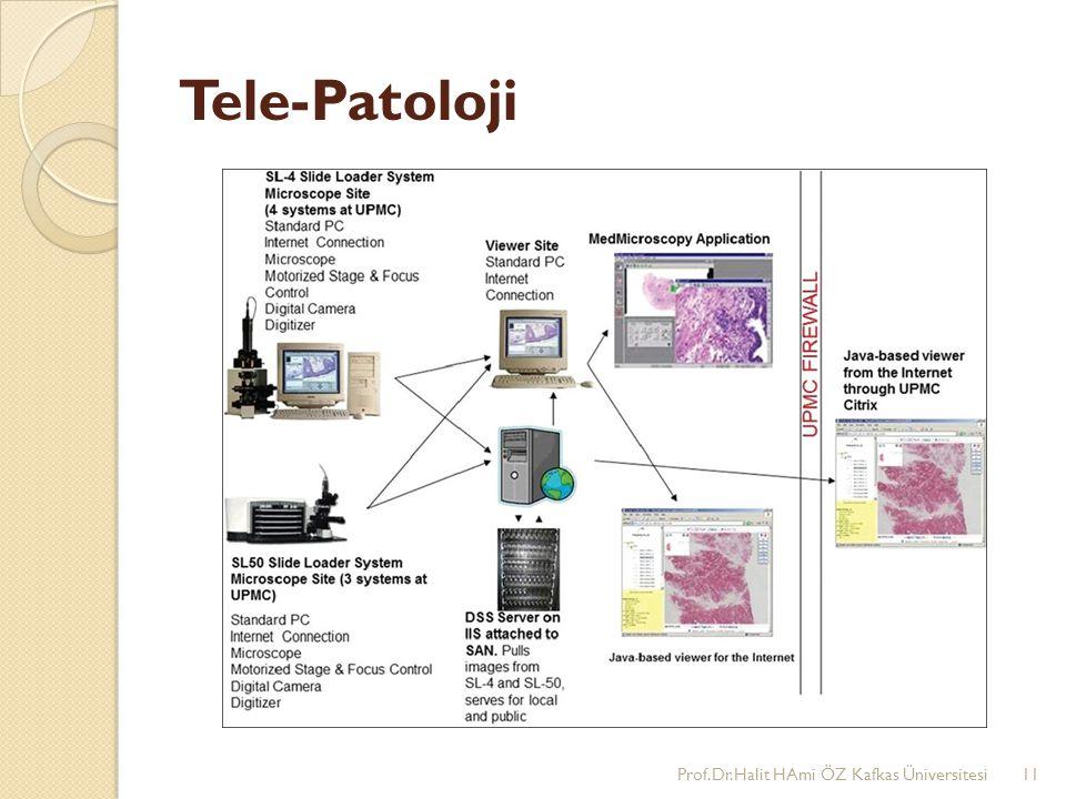 Tele-Patoloji Prof.Dr.Halit HAmi ÖZ Kafkas Üniversitesi11