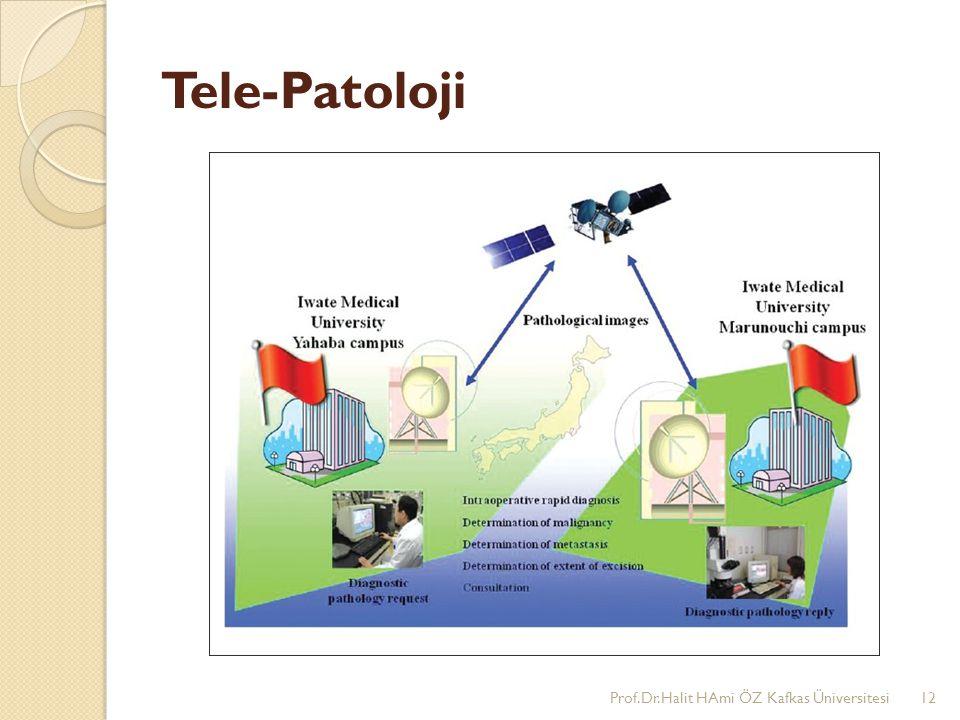 Tele-Patoloji Prof.Dr.Halit HAmi ÖZ Kafkas Üniversitesi12
