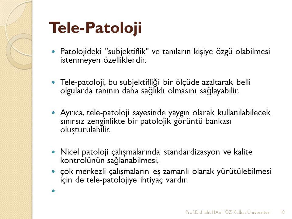 Tele-Patoloji Patolojideki