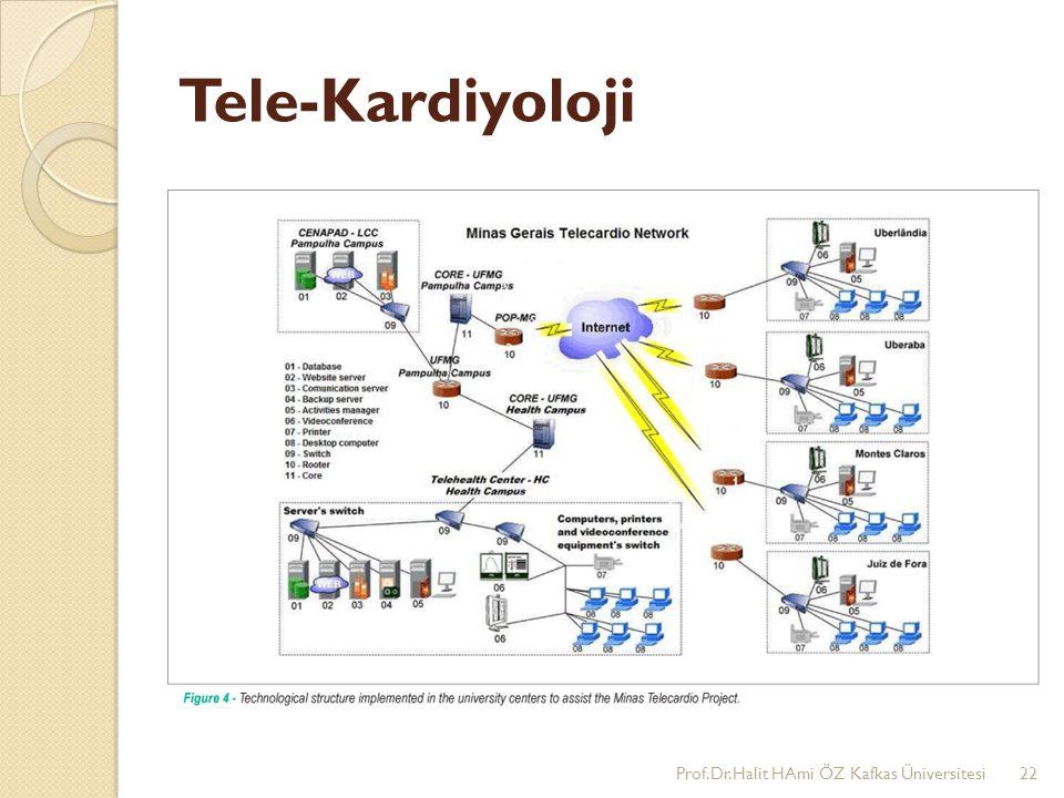Tele-Kardiyoloji Prof.Dr.Halit HAmi ÖZ Kafkas Üniversitesi22