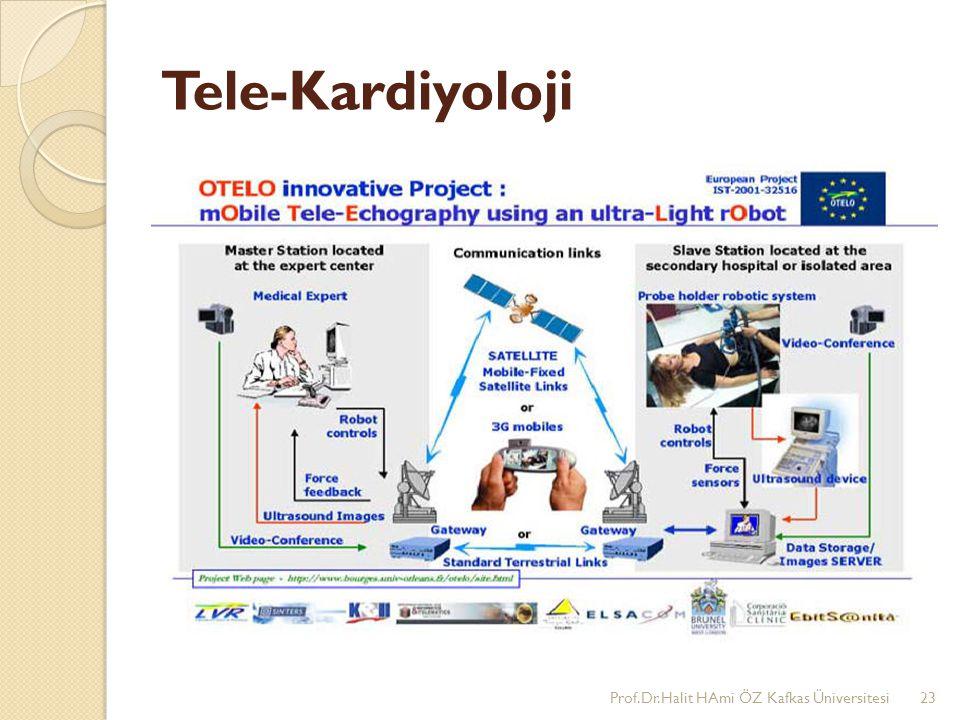Tele-Kardiyoloji Prof.Dr.Halit HAmi ÖZ Kafkas Üniversitesi23