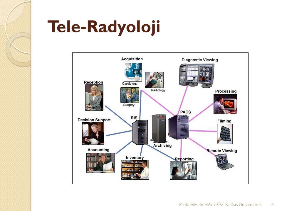 Tele-Radyoloji Prof.Dr.Halit HAmi ÖZ Kafkas Üniversitesi4