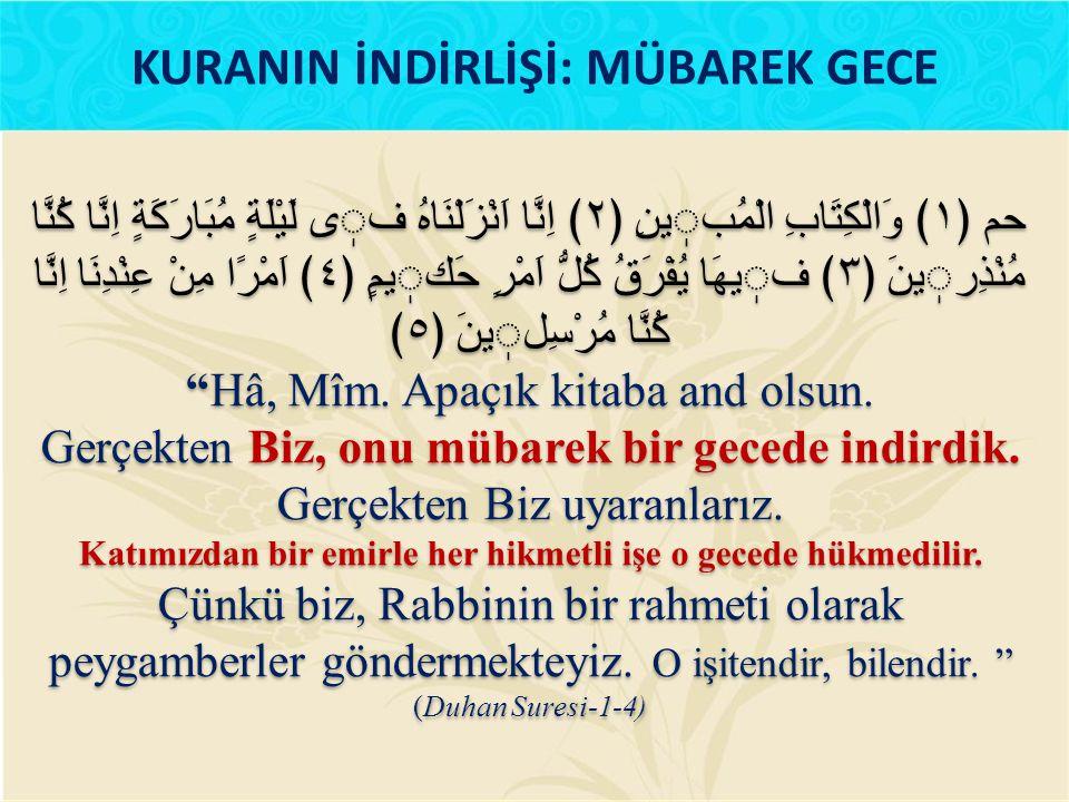 Ramazan ayı için on bir ayın sultanı dememizdeki asıl hikmet Kur'an- ı Kerimin içinde indirildiği ay olmasıdır.