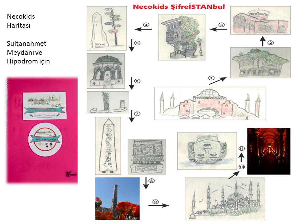Necokids Haritası Sultanahmet Meydanı ve Hipodrom için
