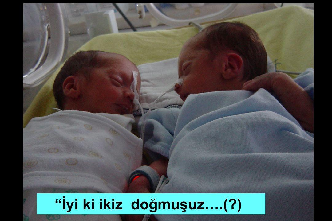 """İyi ki ikiz doğmuşuz….(?)"
