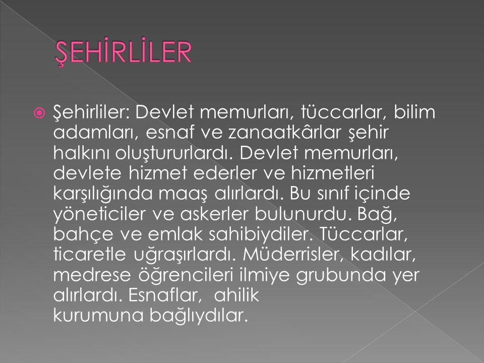  Konargöçerler: Türkmenler, genellikle uç bölgelere yerleşerek geçimlerini hayvancılıkla sağlarlardı.