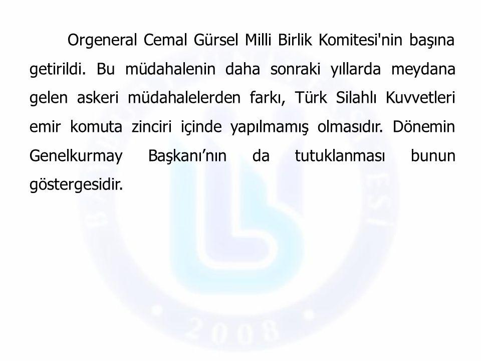 Bu arada ordu içinde MBK kadar etkili olmaya başlayan Silahlı Kuvvetler Birliği (SKB), seçimlerin millî iradeyi tam olarak yansıtmadığı ve yeni bir darbenin gerektiğini savunmuştur.