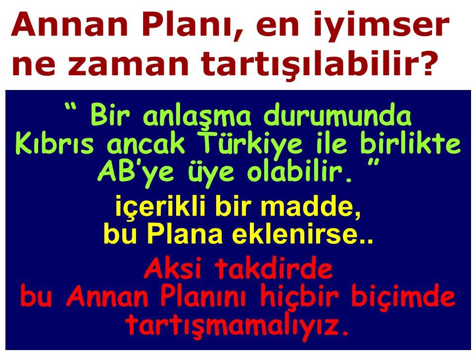 Annan Planı, en iyimser ne zaman tartışılabilir.