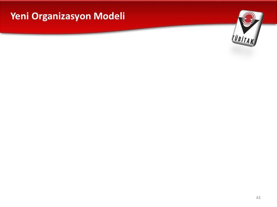 Yeni Organizasyon Modeli 44