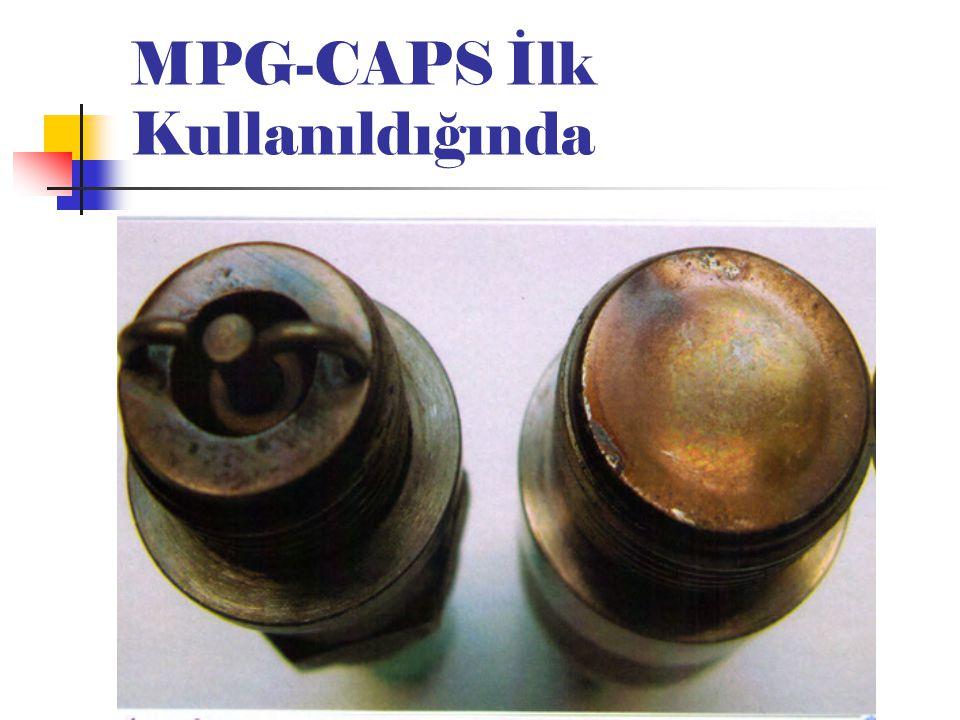 MPG-CAPS İlk Kullanıldığında