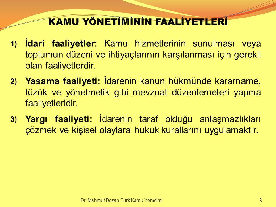 BÜROKRASİNİN ÖZELLİKLERİ 5.