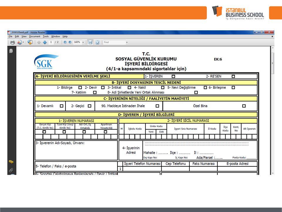 İŞYERİ AÇILIŞ Çalışma Bakanlığı Bildirimi; 5838 Sayılı Kanuna Göre SGK ya yapılan bildirim Yeterlidir .