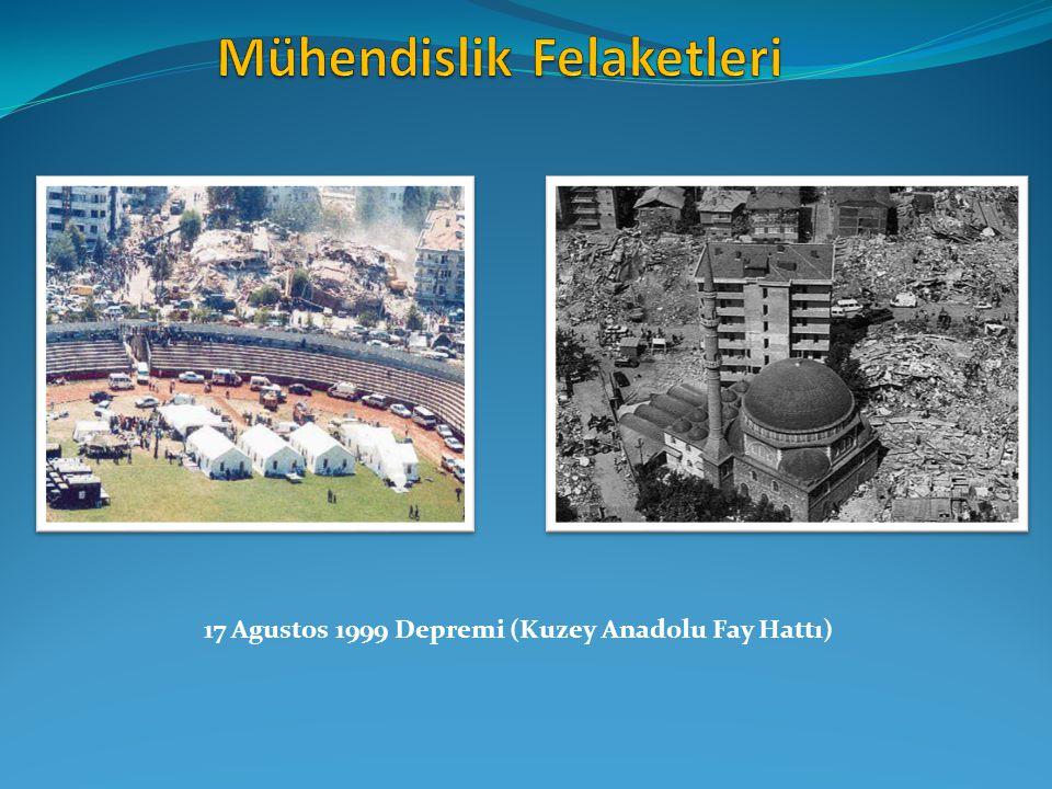 17 Agustos 1999 Depremi (Kuzey Anadolu Fay Hattı)
