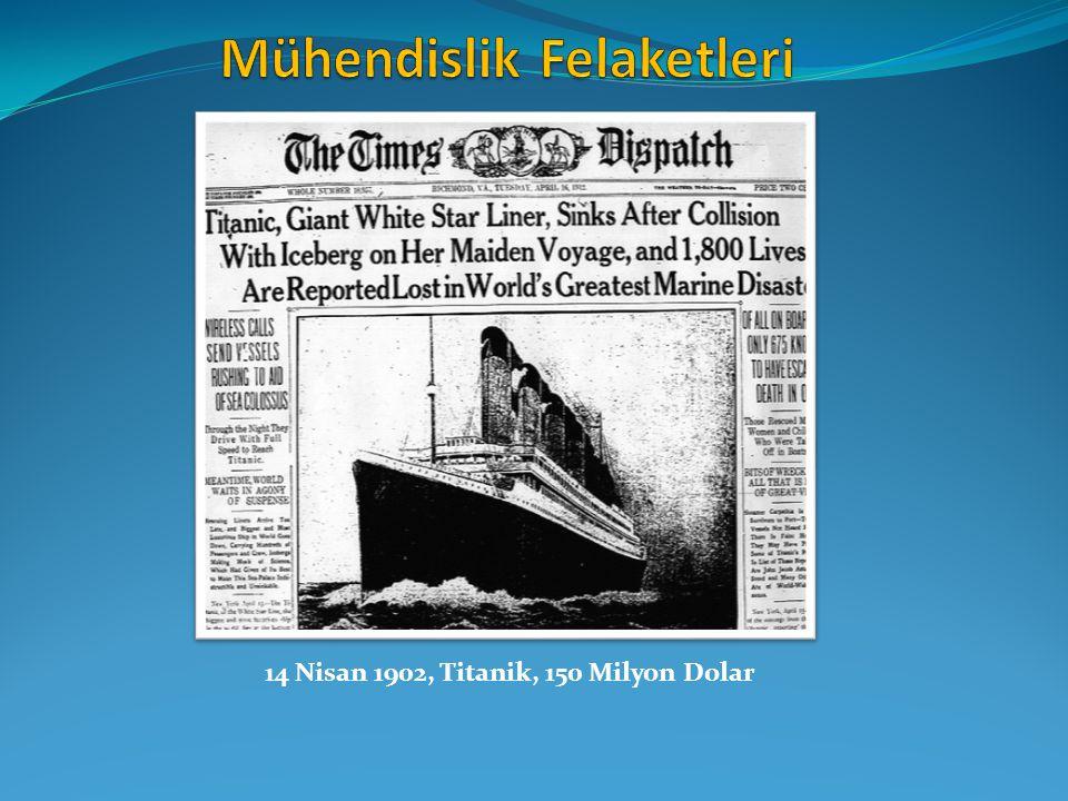 14 Nisan 1902, Titanik, 150 Milyon Dolar