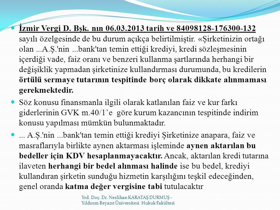 İzmir Vergi D.Bşk.