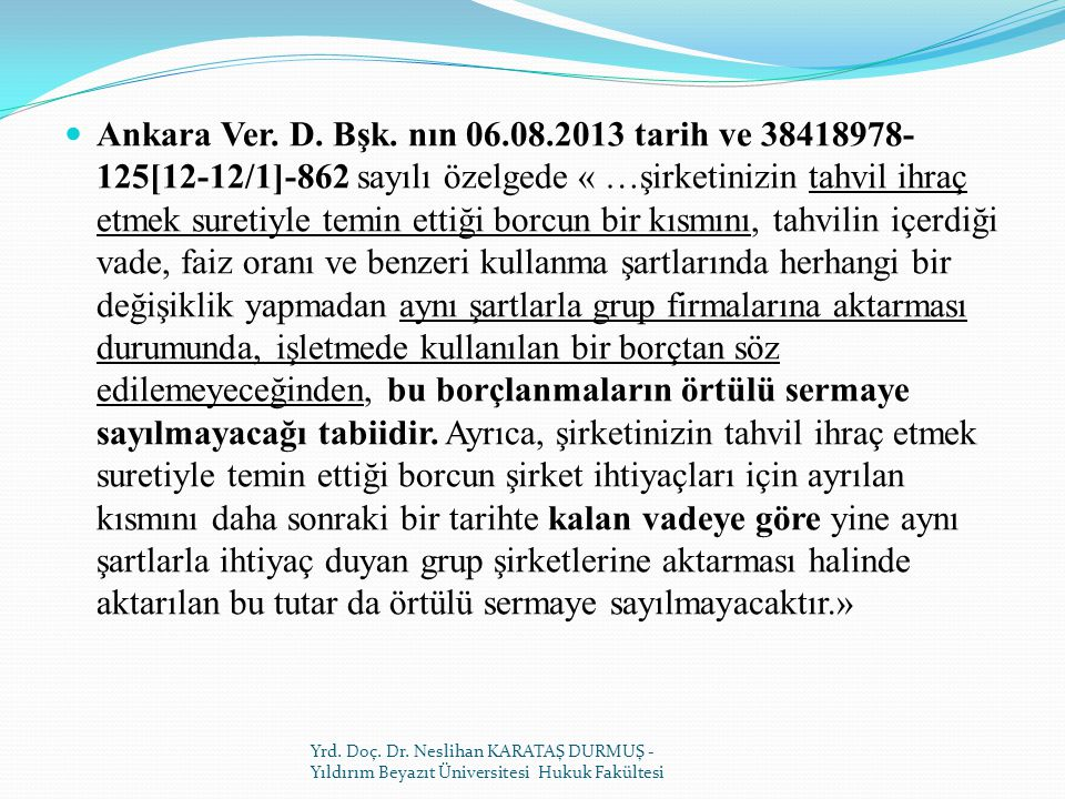 Ankara Ver.D. Bşk.