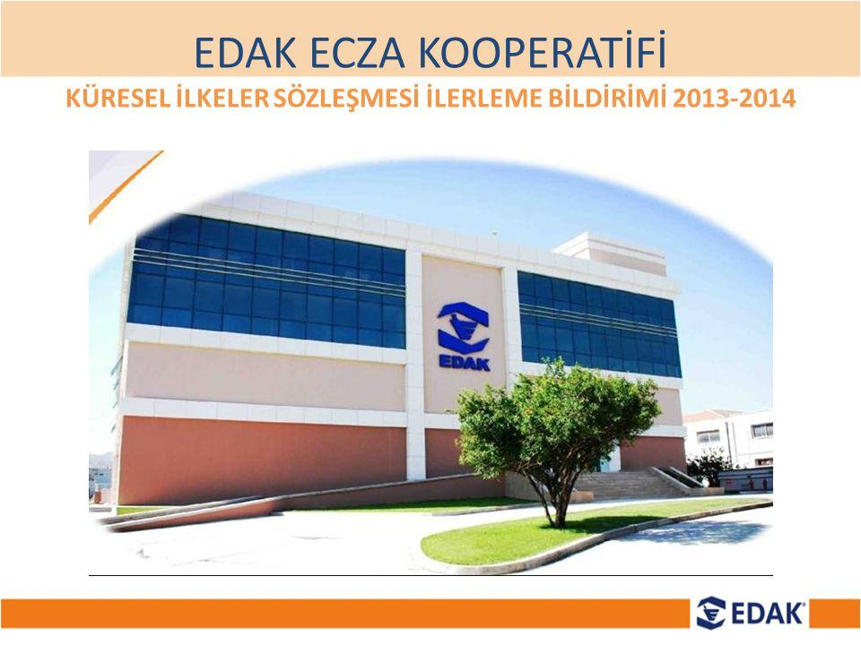 EDAK,ÇEKOOP ve EDAK İştiraki EDAKOM ile başlayan çalışma kapsamında ; Naylon,Plastik,Kağıt,Elektronik, Atık Pil ve Miadı Geçmiş Atık İlaç eczaneler aracılığı ile toplanmaktadır.