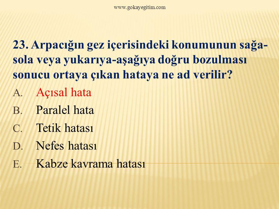 www.gokayegitim.com 23.