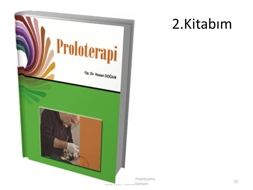 2.Kitabım Ankara Akupunktur Sempozyumu Eylül 2013- Kızılcahamam 11