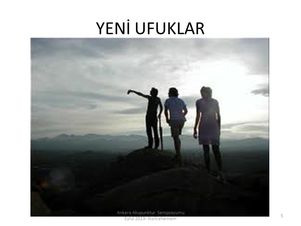 106 Ankara Akupunktur Sempozyumu Eylül 2013- Kızılcahamam