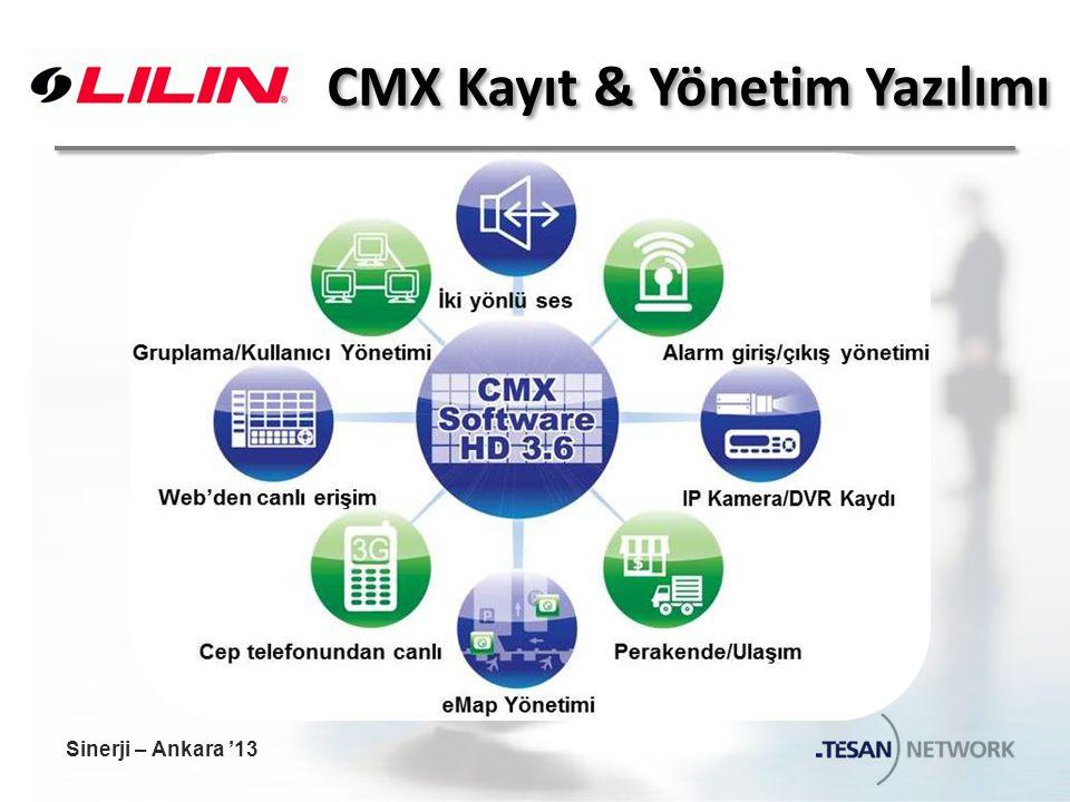 CMX Kayıt & Yönetim Yazılımı Sinerji – Ankara '13