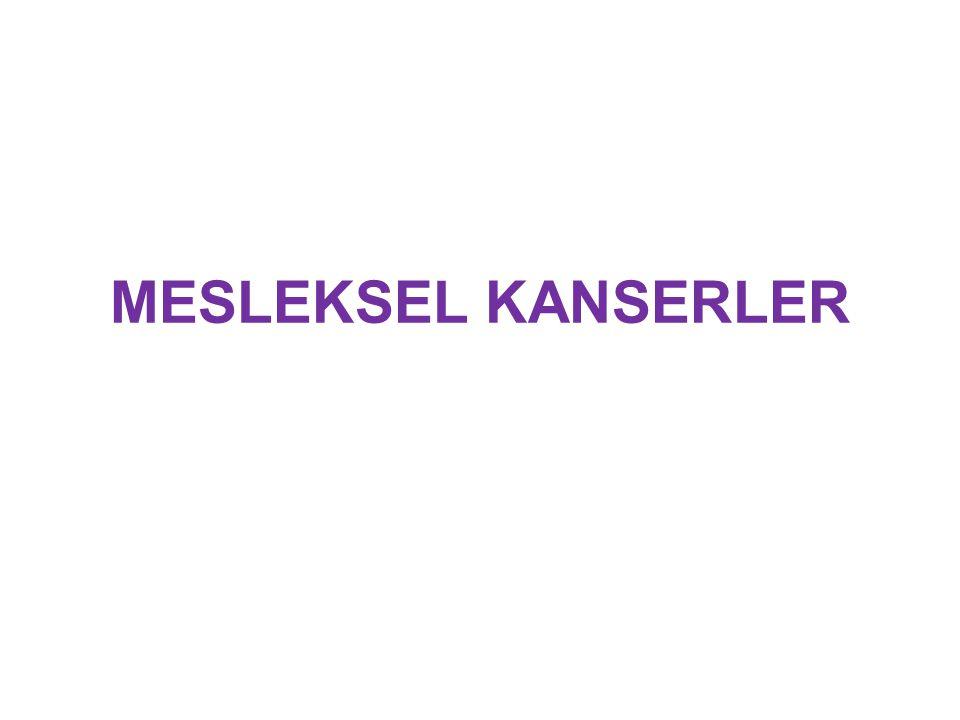 MESLEKSEL KANSERLER