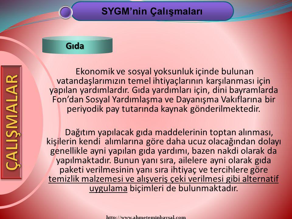 http://www.ahmeteminbaysal.com Ekonomik ve sosyal yoksunluk içinde bulunan vatandaşlarımızın temel ihtiyaçlarının karşılanması için yapılan yardımlard