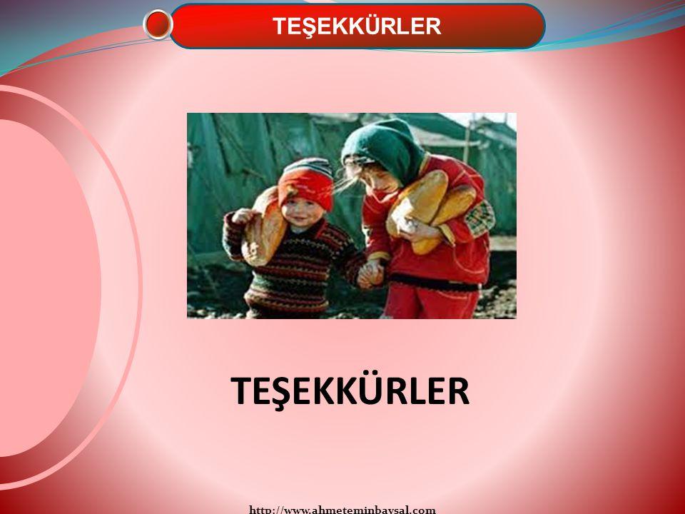 http://www.ahmeteminbaysal.com TEŞEKKÜRLER