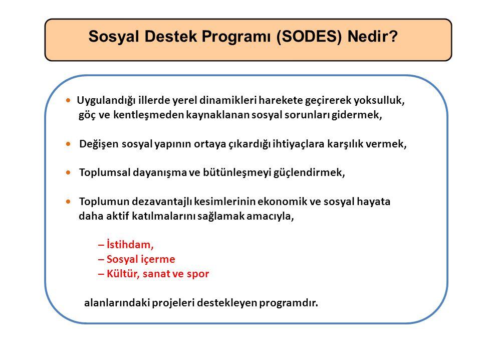 Sosyal Destek Programı (SODES) Nedir.