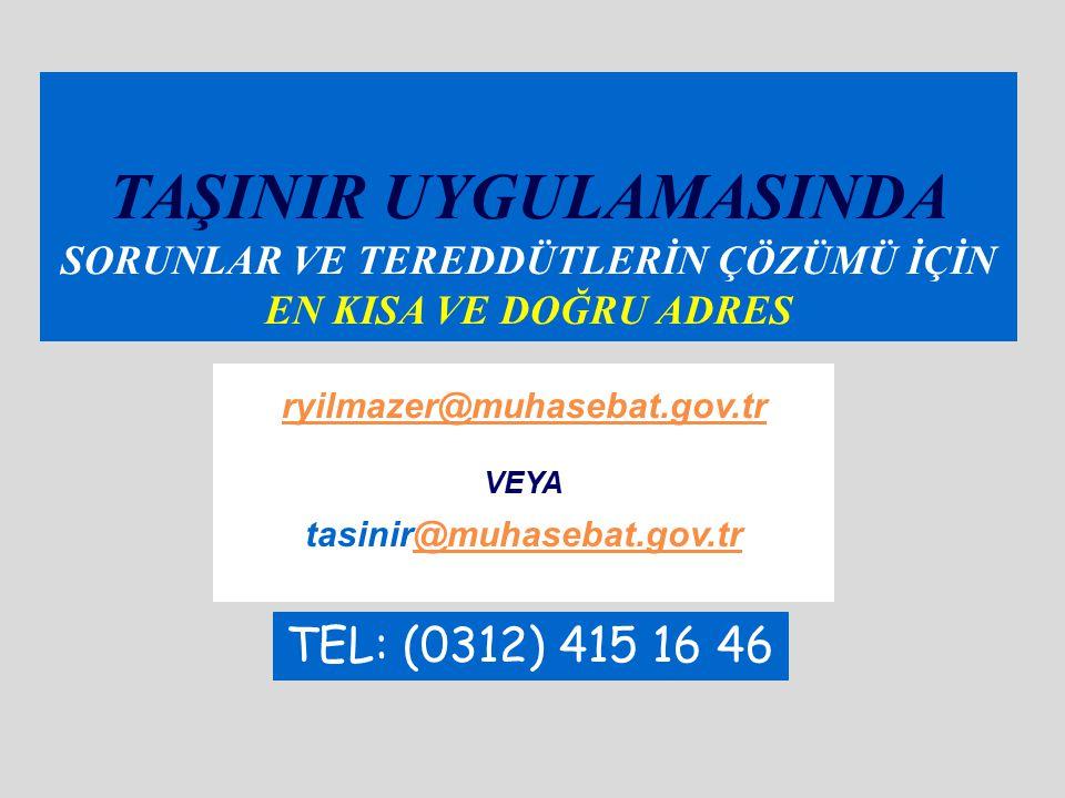 Değer Tespit Komisyonu (MD:13) Değer tespit komisyonları; Harcama Yetkilisi onayı ile kurulur.