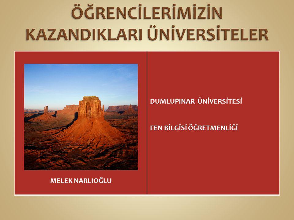 CANAN TOMBUL MARMARA ÜNİVERSİTESİ OKUL ÖNCESİ ÖĞRETMENLİĞİ