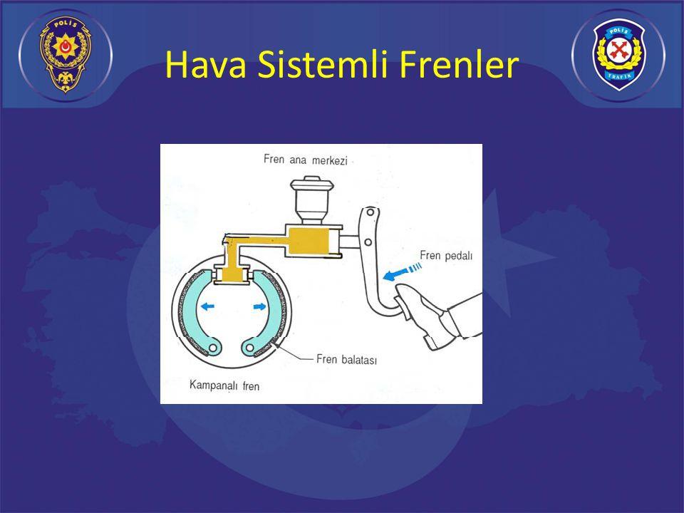 Klasik Hidrolik Frenler Günümüz otomobillerinin birçoğunda hidrolik fren sistemleri kullanılmaktadır.